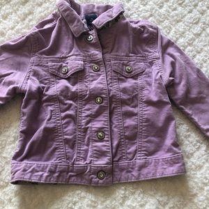 Purple/pink kids Gap jacket